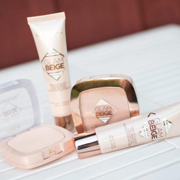l'oréal paris glam beige healthy glow foundation powder