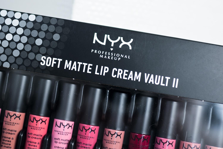 nyx professional makeup soft matte lip cream vault II