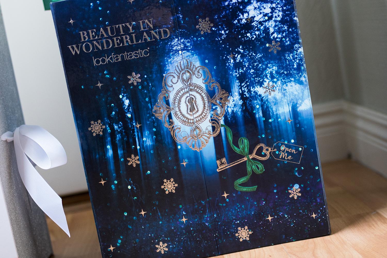 lookfantastic advent calendar 2017 beauty in wonderland