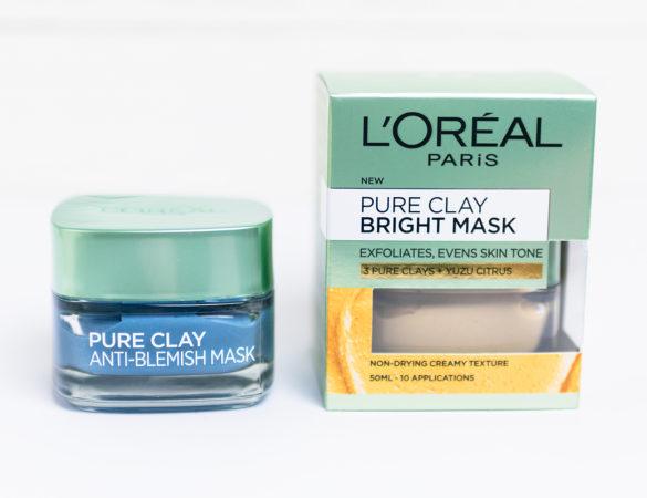 En smurf- & en senapsmask från L'Oréal Paris