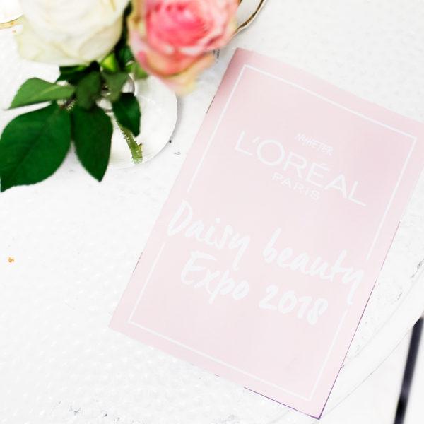 daisy beauty expo 2018 l'oréal paris