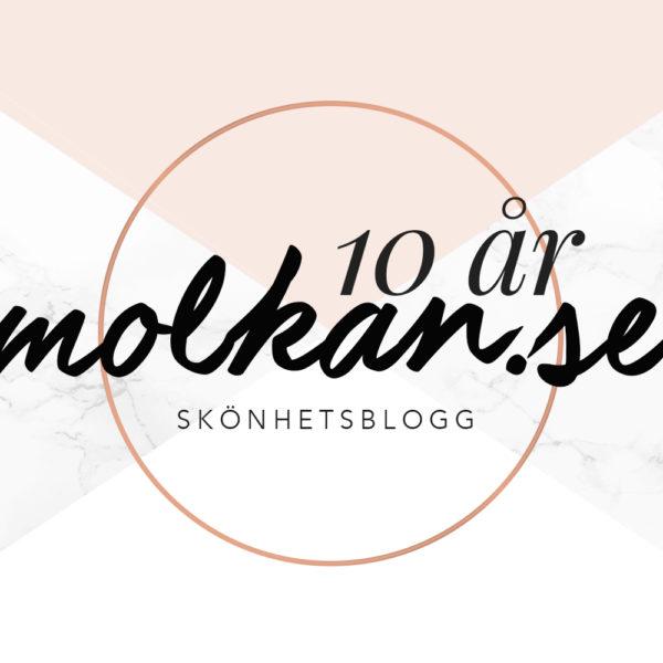 molkan.se skönhetsblogg 10 år