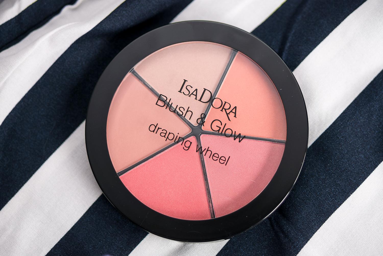 isadora spring atelier blush & glow draping wheel