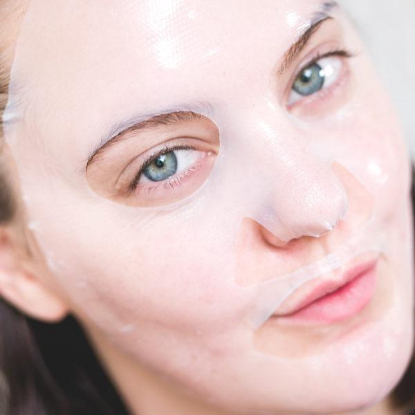 kicks beauty vitamin c sheet mask