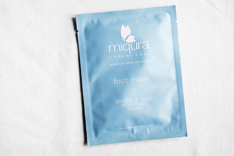 söndagsmasken miqura foot mask