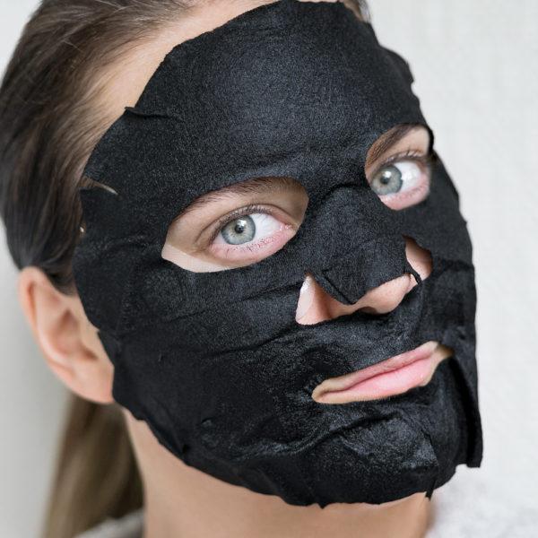söndagsmasken kiss ny professional purifying bamboo sheet mask verso reviving eye mask