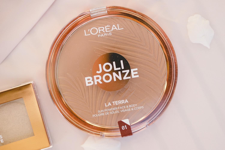 l'oréal paris glow toolbox joli bronze la terra bronzer