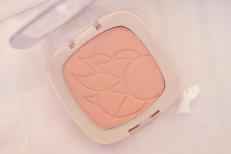 l'oréal paris glow toolbox lifes a peach blush