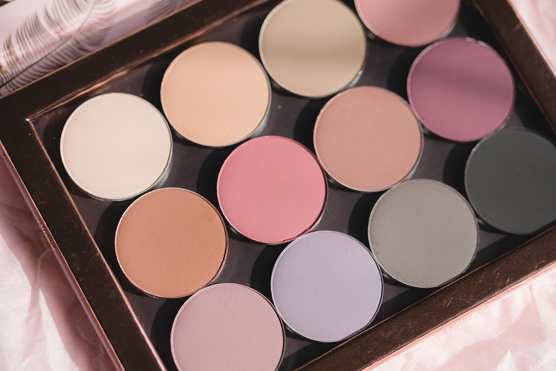 nabla cosmetics the matte collection eyeshadows