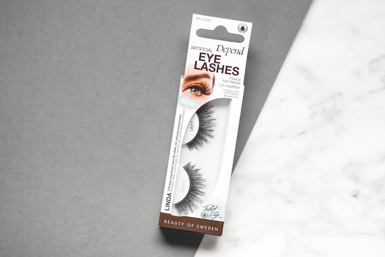 depend artificial eyelashes 2018 linda