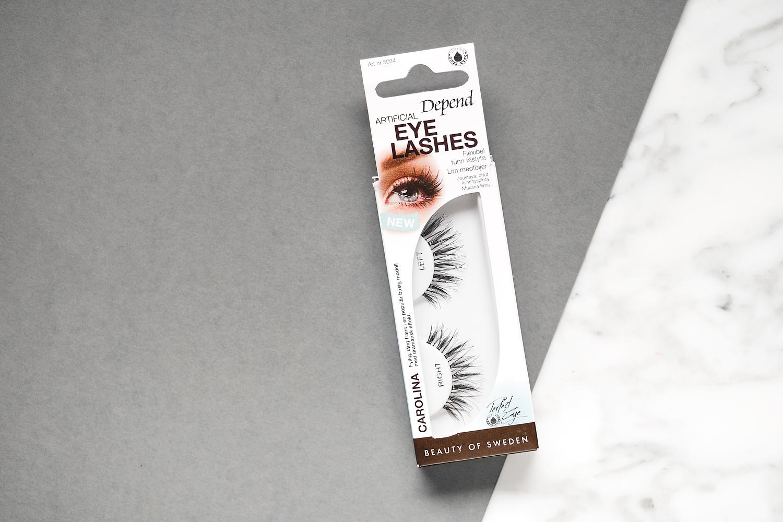 depend artificial eyelashes 2018 carolina