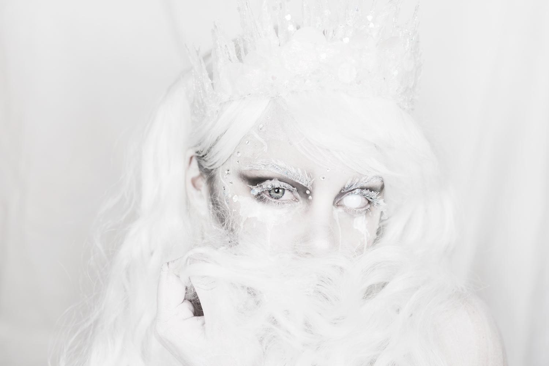halloween ice queen makeup molkan