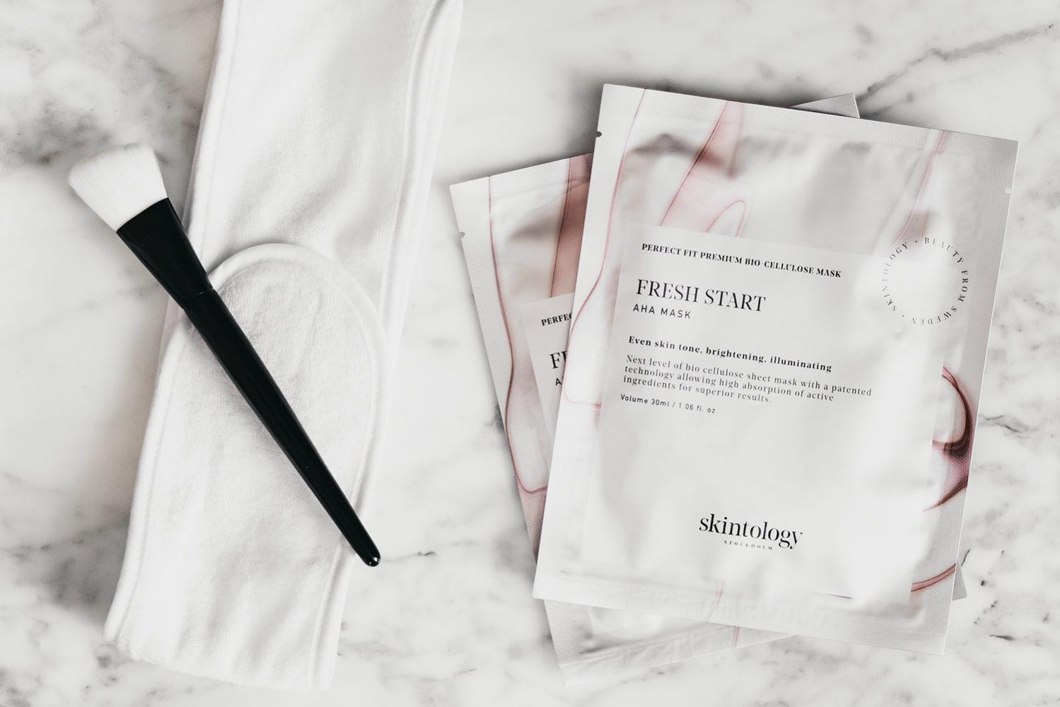 skintology fresh start aha mask