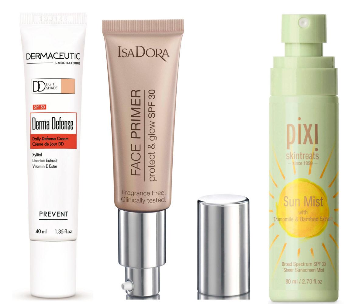 dermaceutic derma defence isadora protect & glow pixi sun mist