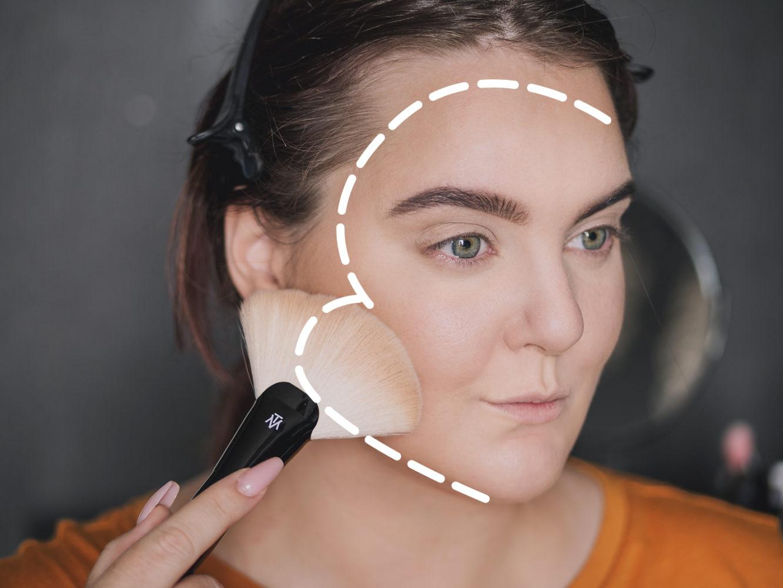 molkan bronzer application trace
