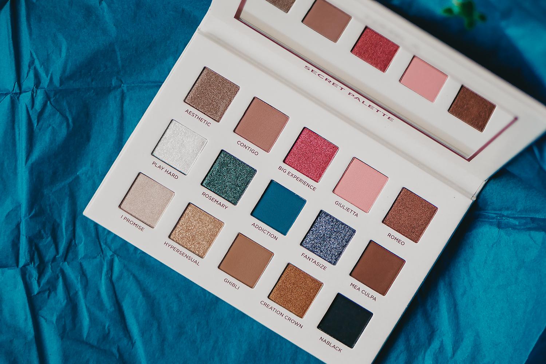 nabla cosmetics secret palette