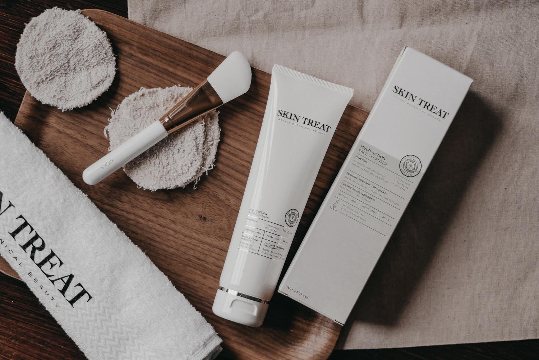 skin treat multi-action cleanser