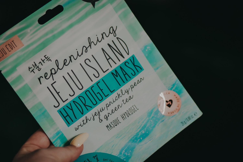 replenishing jeju island mask