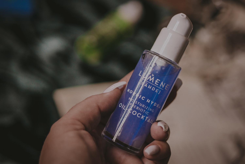 lumene nordic hydra moisturizing prebiotic oil-cocktail