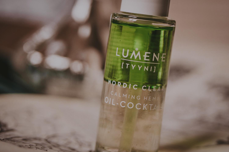 lumene nordic clear calming hemp oil-cocktail